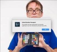 Color Checker Passport export plug in Lightroom