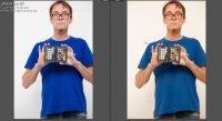 Lightroom default Adobe calibration vs X-Rite Calibration profile