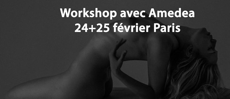 Paris photo workshop lingerie et nuartistique avec Amedea
