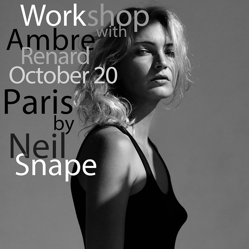 Workshop Ambre Renard portrait et lingerie Portrait Lingerie Workshop Ambre Renard